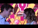 Martina Stoessel y Jorge Blanco (Violetta y Leon) - Podemos (2 ����� 75 ����� �������� 155) (Violetta 2)